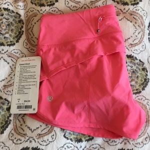 Size 4 Lululemon Speed Short